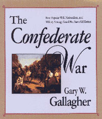 Cover: The Confederate War in PAPERBACK