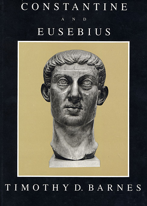 Cover: Constantine and Eusebius, from Harvard University Press