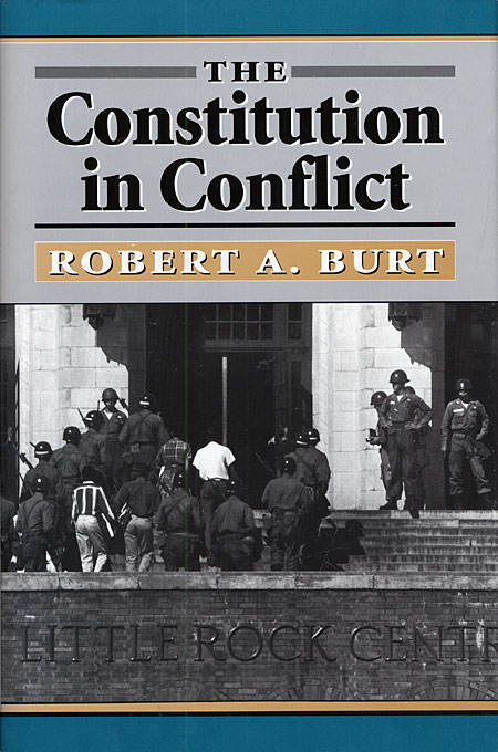 Cover: The Constitution in Conflict, from Harvard University Press