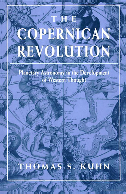 Cover: The Copernican Revolution: Planetary Astronomy in the Development of Western Thought, from Harvard University Press