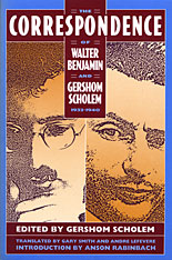 Cover: The Correspondence of Walter Benjamin and Gershom Scholem, 1932–1940 in PAPERBACK