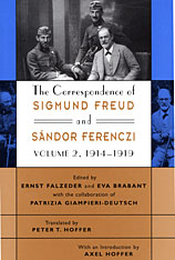 Cover: The Correspondence of Sigmund Freud and Sándor Ferenczi, Volume 2: 1914-1919 in HARDCOVER