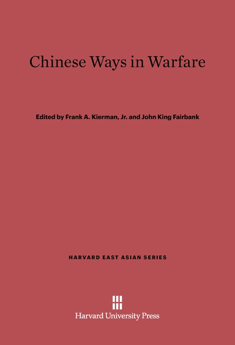 Cover: Chinese Ways in Warfare, from Harvard University Press