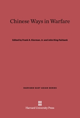 Cover: Chinese Ways in Warfare