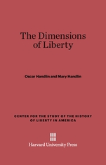 Cover: The Dimensions of Liberty