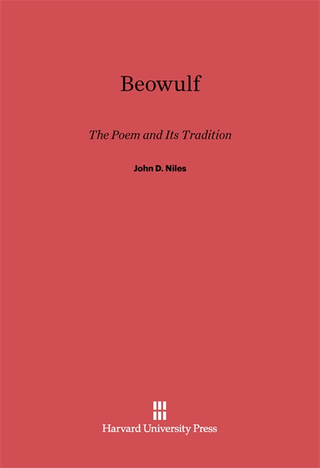 Cover: Beowulf: The Poem and Its Tradition, from Harvard University Press