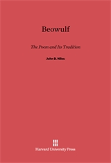 Cover: Beowulf: The Poem and Its Tradition