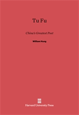 Cover: Tu Fu: China's Greatest Poet