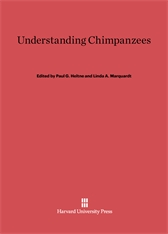 Cover: Understanding Chimpanzees in E-DITION