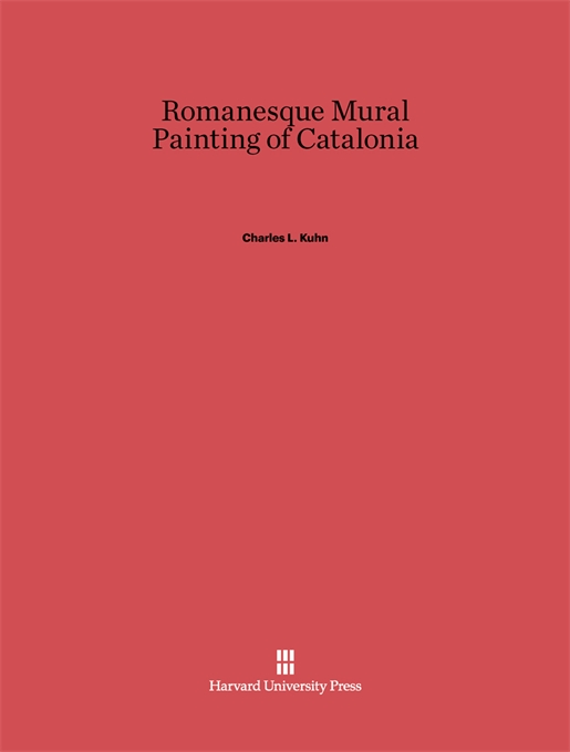 Cover: Romanesque Mural Painting of Catalonia, from Harvard University Press