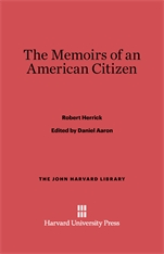 Cover: The Memoirs of an American Citizen