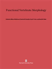 Cover: Functional Vertebrate Morphology