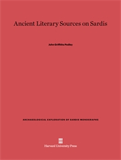 Cover: Ancient Literary Sources on Sardis
