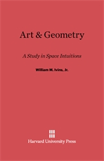Cover: Art and Geometry: A Study in Space Intuitions