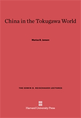 Cover: China in the Tokugawa World