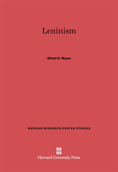 Cover: Leninism, from Harvard University Press