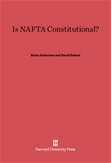 Cover: Is NAFTA Constitutional? in E-DITION