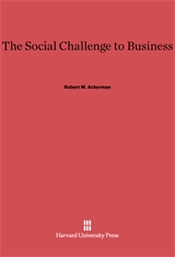 Cover: The Social Challenge to Business in E-DITION
