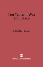 Cover: Ten Years of War and Peace