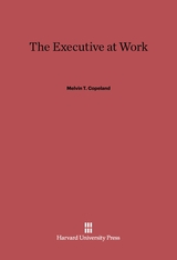 Cover: The Executive at Work