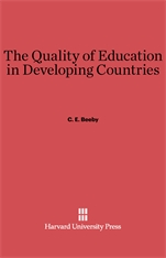 Cover: The Quality of Education in Developing Countries