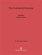 Cover: The Continental Harmony in E-DITION