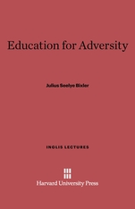 Cover: Education for Adversity
