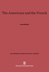 Cover: The Americans and the French