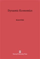 Cover: Dynamic Economics in E-DITION