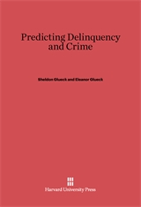 Cover: Predicting Delinquency and Crime