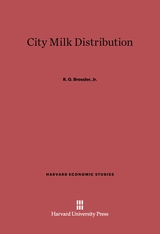 Cover: City Milk Distribution
