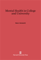 Cover: Mental Health in College and University