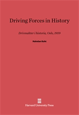 Cover: Driving Forces in History in E-DITION