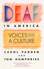 Cover: Deaf in America: Voices from a Culture