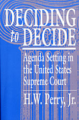 Cover: Deciding to Decide in PAPERBACK
