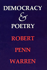 Cover: Democracy and Poetry in PAPERBACK