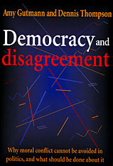 Cover: Democracy and Disagreement in PAPERBACK