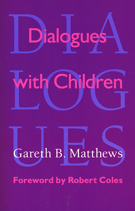 Cover: Dialogues with Children, from Harvard University Press