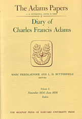 Cover: Diary of Charles Francis Adams, Volumes 5 and 6: January 1833 - June 1836