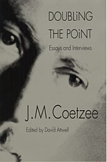Cover: Doubling the Point: Essays and Interviews