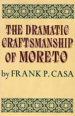 Cover: The Dramatic Craftsmanship of Moreto