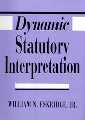 Cover: Dynamic Statutory Interpretation in HARDCOVER