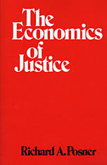 Cover: The Economics of Justice in PAPERBACK