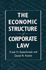 Cover: The Economic Structure of Corporate Law in PAPERBACK