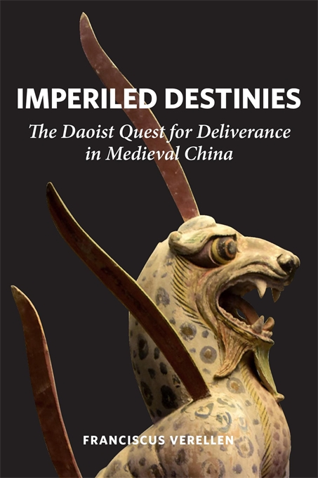 Cover: Imperiled Destinies: The Daoist Quest for Deliverance in Medieval China, from Harvard University Press
