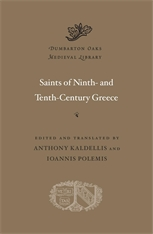 Cover: Saints of Ninth- and Tenth-Century Greece in HARDCOVER