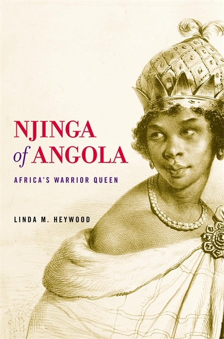 Cover: Njinga of Angola: Africa's Warrior Queen, from Harvard University Press