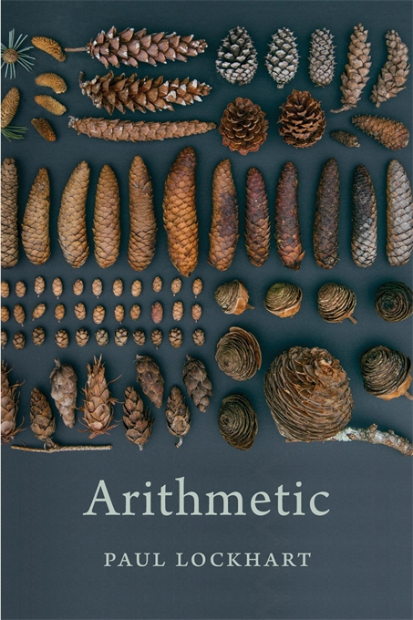 Cover: Arithmetic, from Harvard University Press