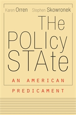 Cover: The Policy State in PAPERBACK
