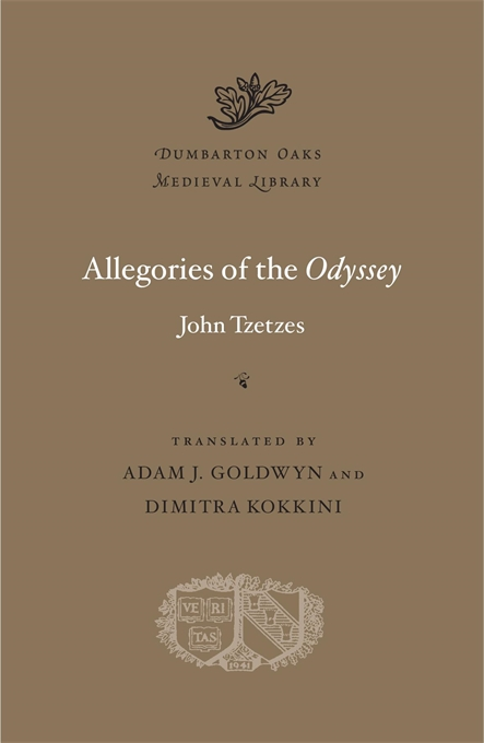 Cover: Allegories of the <i>Odyssey</i>, from Harvard University Press